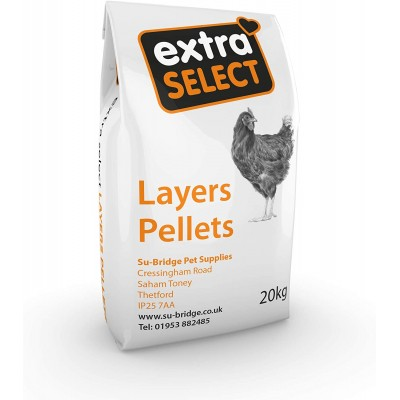 Extra Select Layers Pellets 20kg Bag
