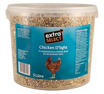 Extra Select Chicken D'Light Poultry Blend 5L Bucket
