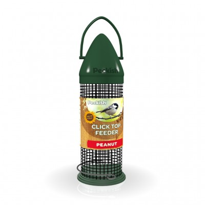 Peckish Click Top Peanut Feeder 300g