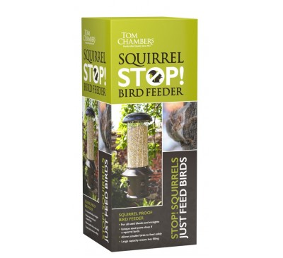 Tom Chambers Squirrel Stop Squirrel Proof Bird Feeder