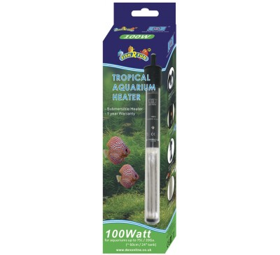 Fish R Fun 100 Watt Tropical Aquarium Heater