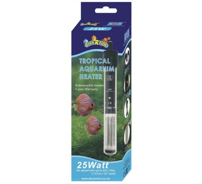 Fish R Fun 25 Watt Tropical Aquarium Heater