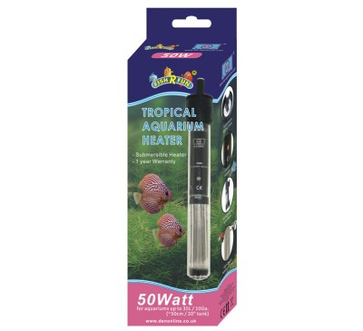 Fish R Fun 50 Watt Tropical Aquarium Heater