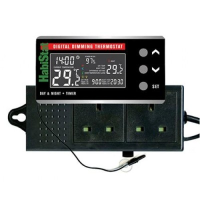 HabiStat Digital Dimming Thermostat with Day & Night Function
