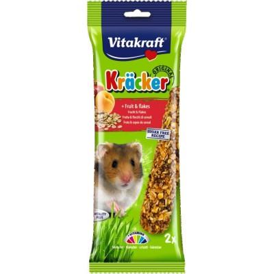 Vitakraft Kräcker Original + Fruit & Flakes Hamster 2pcs