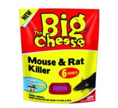 Mouse and Rat Killer No Spill Sachets