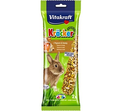 Vitakraft Kräcker Original + Popcorn & Honey Rabbit 2pcs