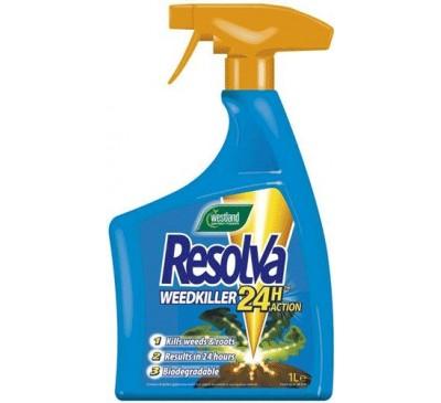 Resolva 24 hour weedkiller spray 1ltr