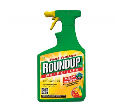 Roundup Weedkiller Spray 1ltr